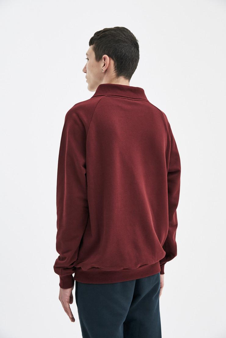 Gosha Rubchinskiy Collared Logo Sweatshirt A/W17 AW17 Rubchinsky Sweater top Jumper Brown printed
