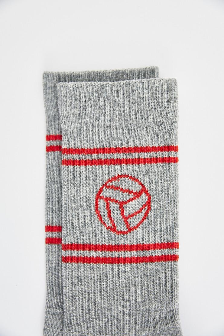 Gosha Rubchinskiy White Football Logo Socks sports stripes rubchinsky a/w 17 aw17
