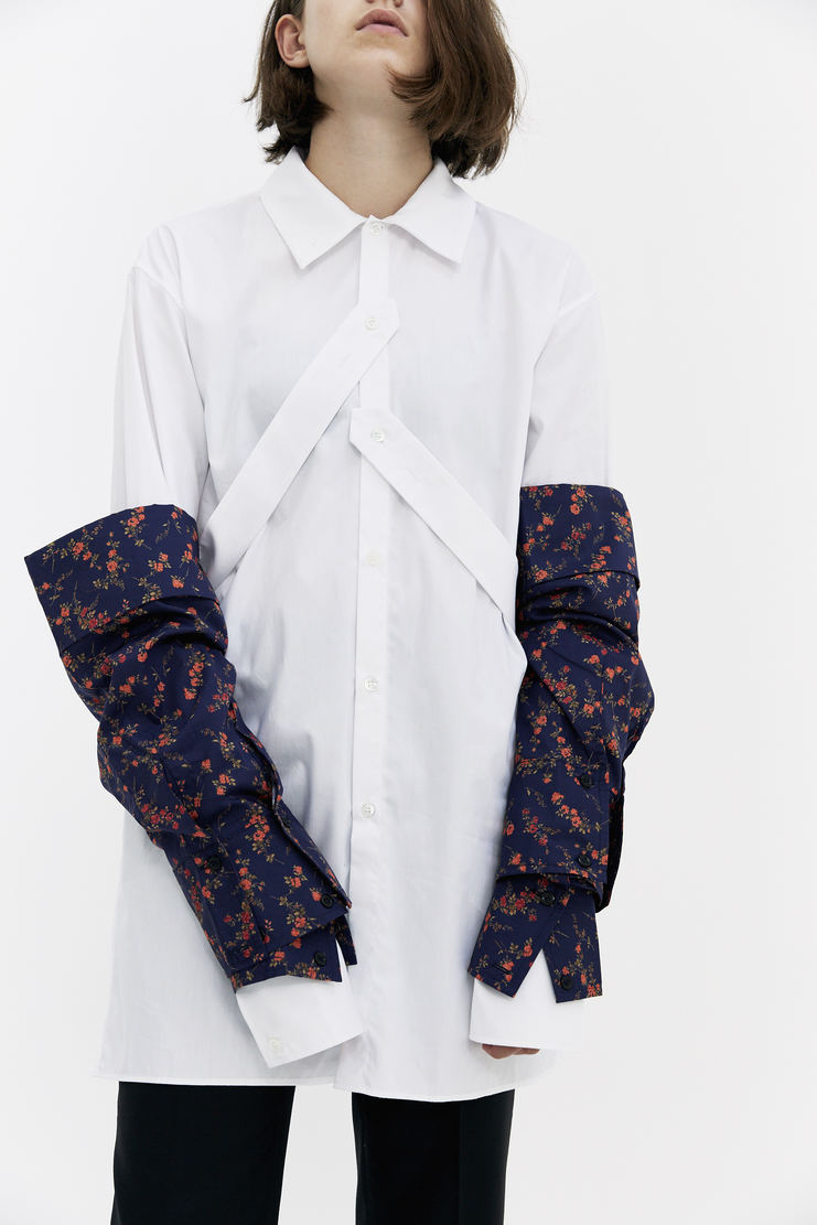 DELADA Floral Sleeves flowery removable sleeves a/w 17 aw17 dilada