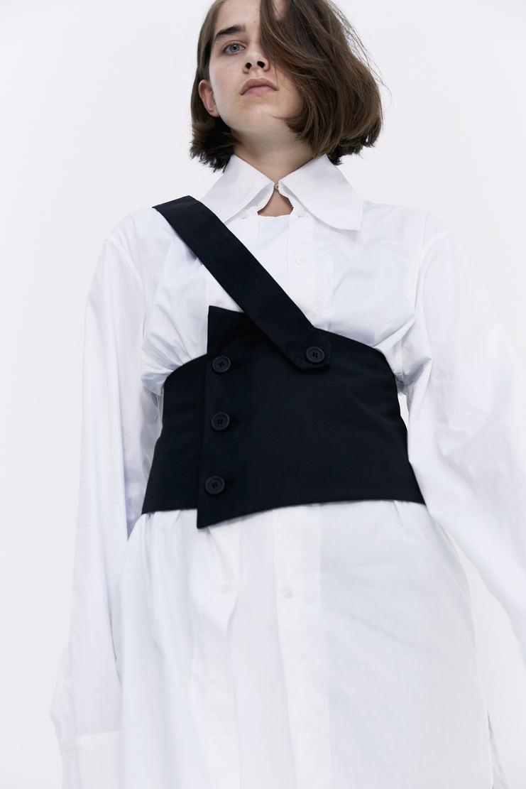 DELADA Black Corset Belt waist belted strap a/w 17 aw17 dilada
