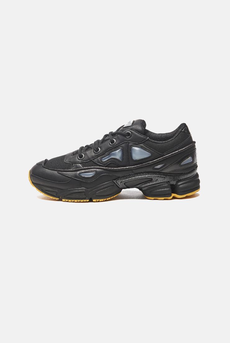 Adidas X Raf Simons Ozweego III trainers shoes sneakers black red a/w17 aw17 raf simons yellow