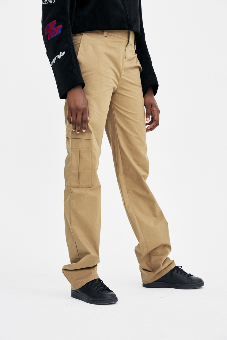 Ottolinger Work Pants AW17 A/W17 Otolinger trousers bottoms green cargo military