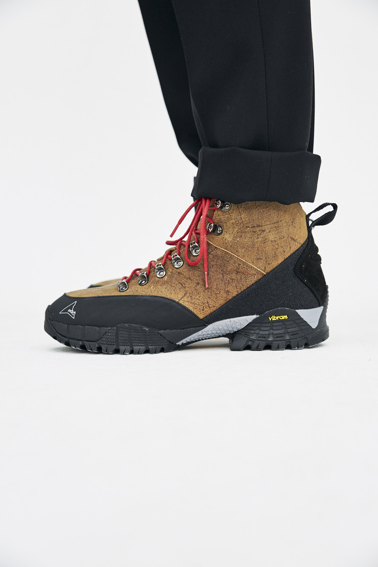 Roa Black Hiking Boots laced boots walking a/w 17 aw17