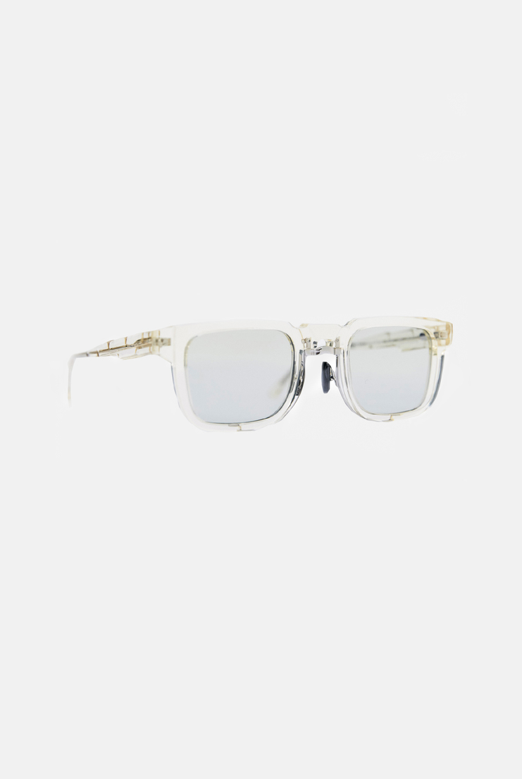 KUBORAUM Clear Acetate Sunglasses square frame tinted lens a/w 17 aw17 kubaraum