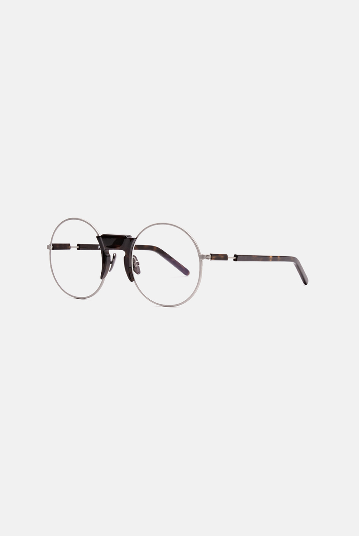 accessories glasses frame metal berlin acetate lens mens womens silver rounded reading sight handcraft handmade italy
