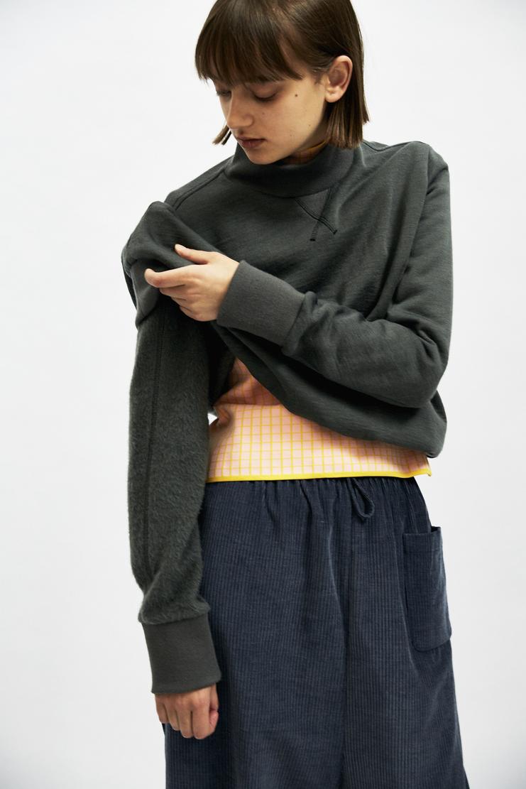 SIRLOIN Bukko Sweater AW17 A/W17 Sir Loin Sweatshirt Jumper Top Grey Mao Usami Alve Lagercrantz