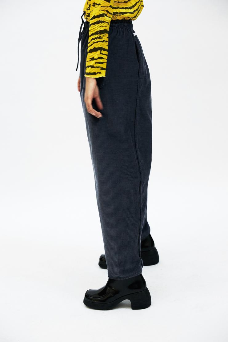 SIRLOIN Grandpa Trousers AW17 A/W17 Sir Loin Corduroy Cord Navy Mao Usami Alve Lagercrantz