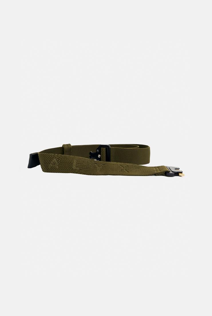Alyx Rollercoaster Belt Green Cordura Heavy Duty Buckle Utility Accessories Unisex Accessory A/W 17