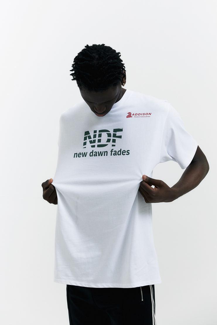 Raf Simons New Dawn Fades T-shirt white green tee shirt tshirt top a/w 17 aw17 simmons