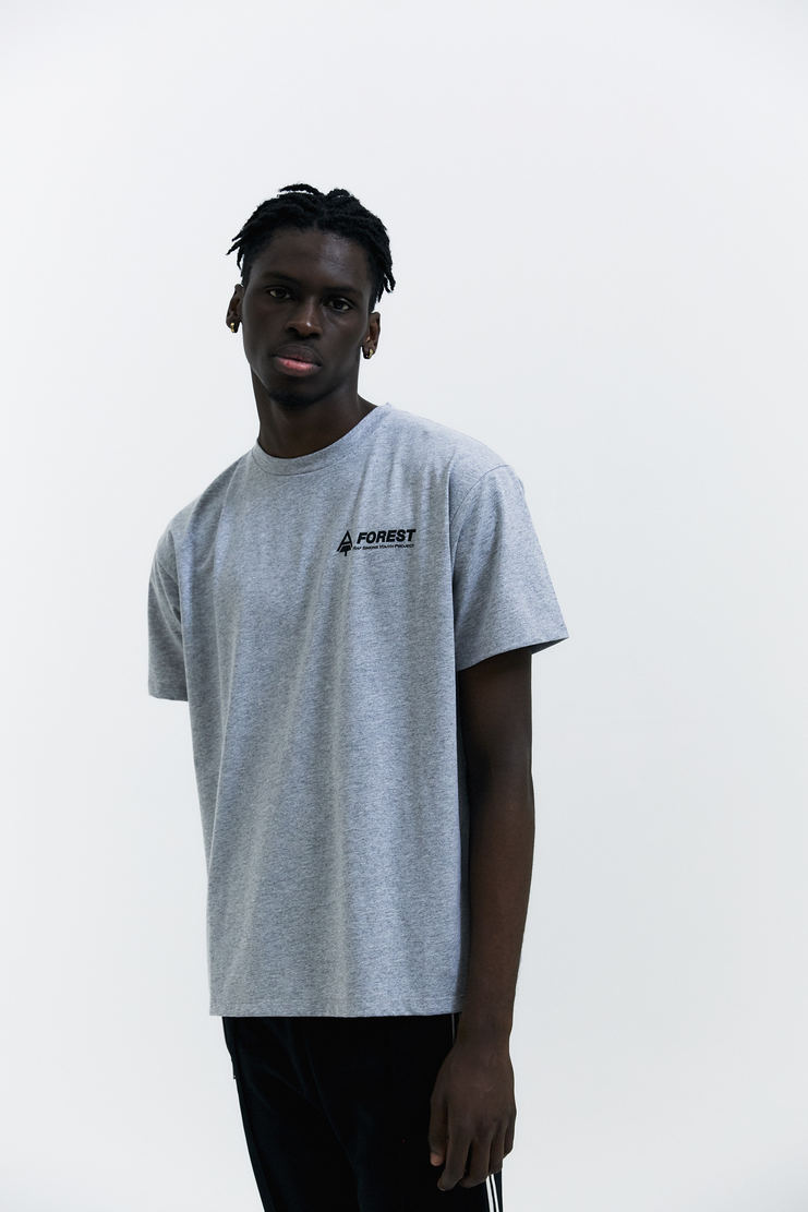 Raf Simons Forest T-shirt youth project simmons a/w 17 aw17 tree short sleeve tee shirt top grey