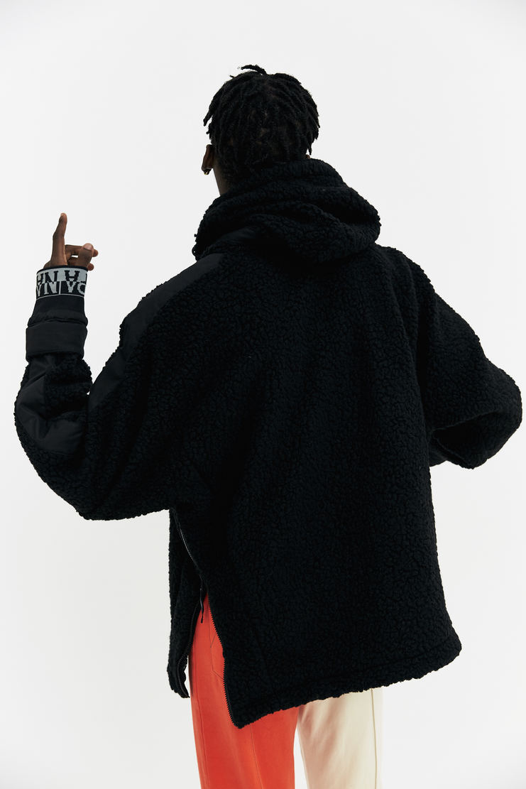 Martine Rose x Napapijri Black Tyson Hoodie AW17 A/W17 Martin Rose Napapijiri Napa Pijiri Hoody Sweater