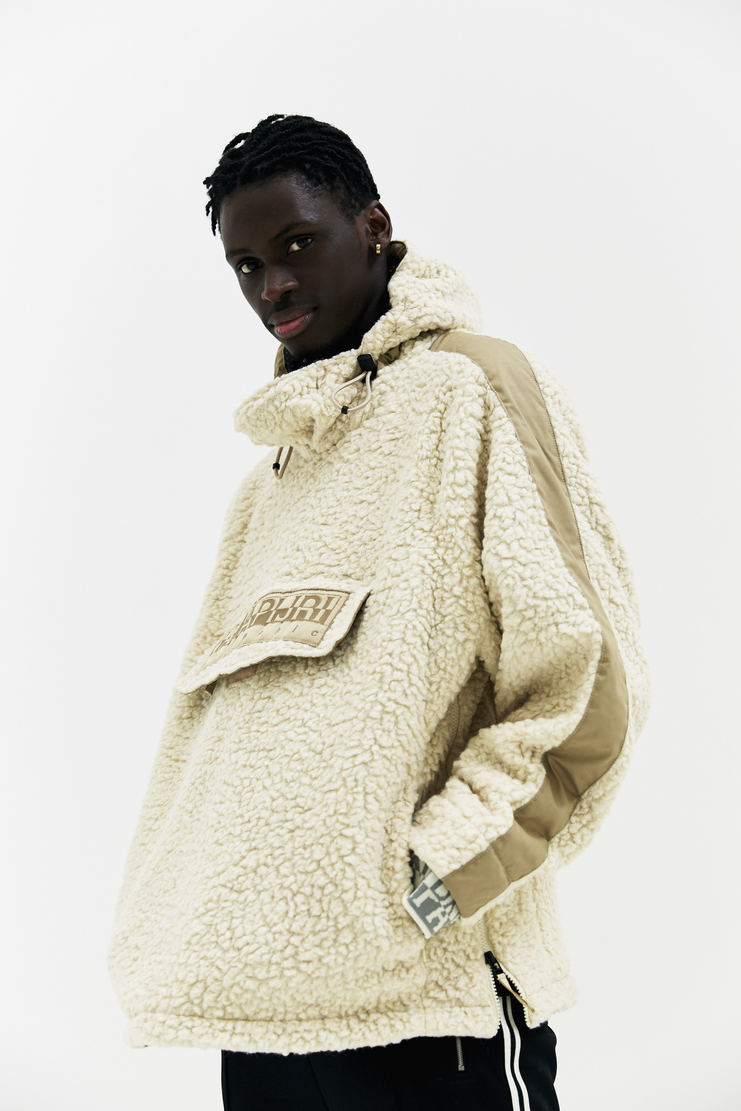 Martine Rose x Napapijri Cream Tyson Hoodie AW17 A/W17 Martin Rose Napapijiri Napa Pijiri Hoody Sweater