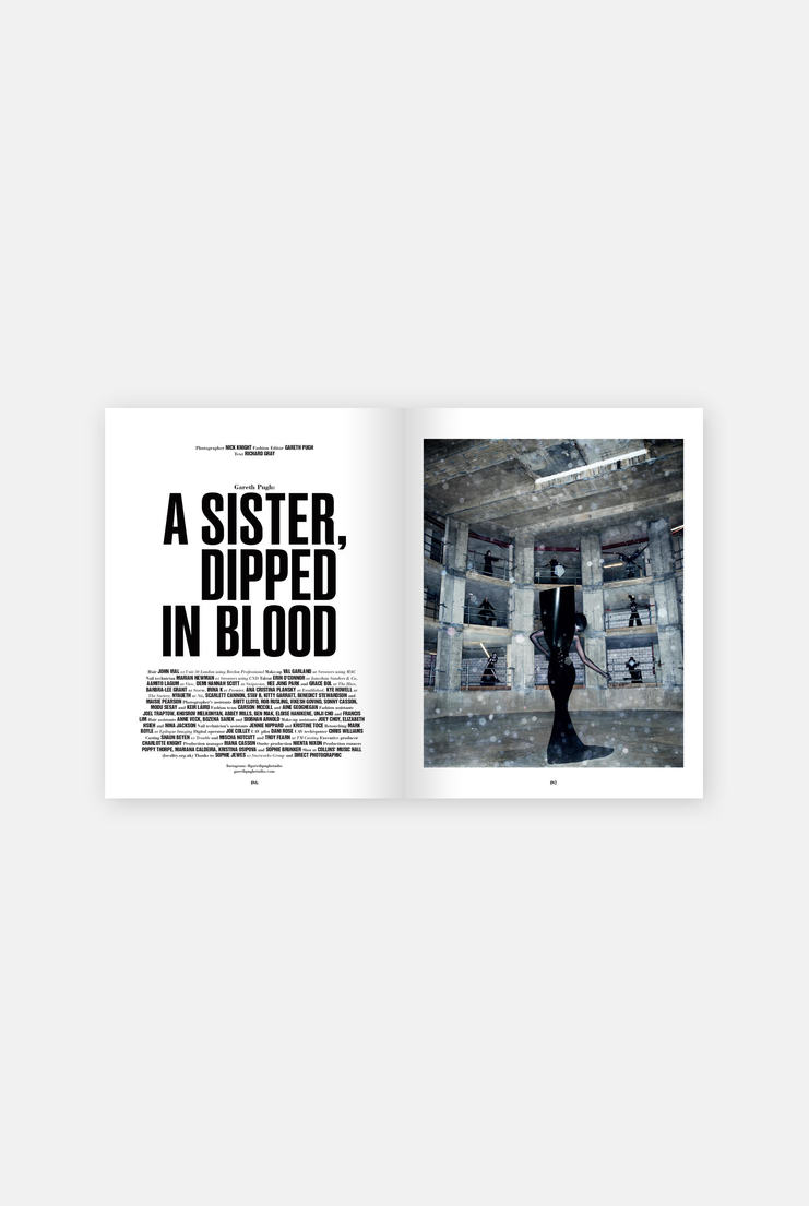 10 Magazine Issue 59: A/W 17 Rebel Heart Mag Gareth Pugh 'A SISTER, DIPPED IN BLOOD' Nick Knight Alexander Wang, Azzedine Alaïa, Noomi Rapace
