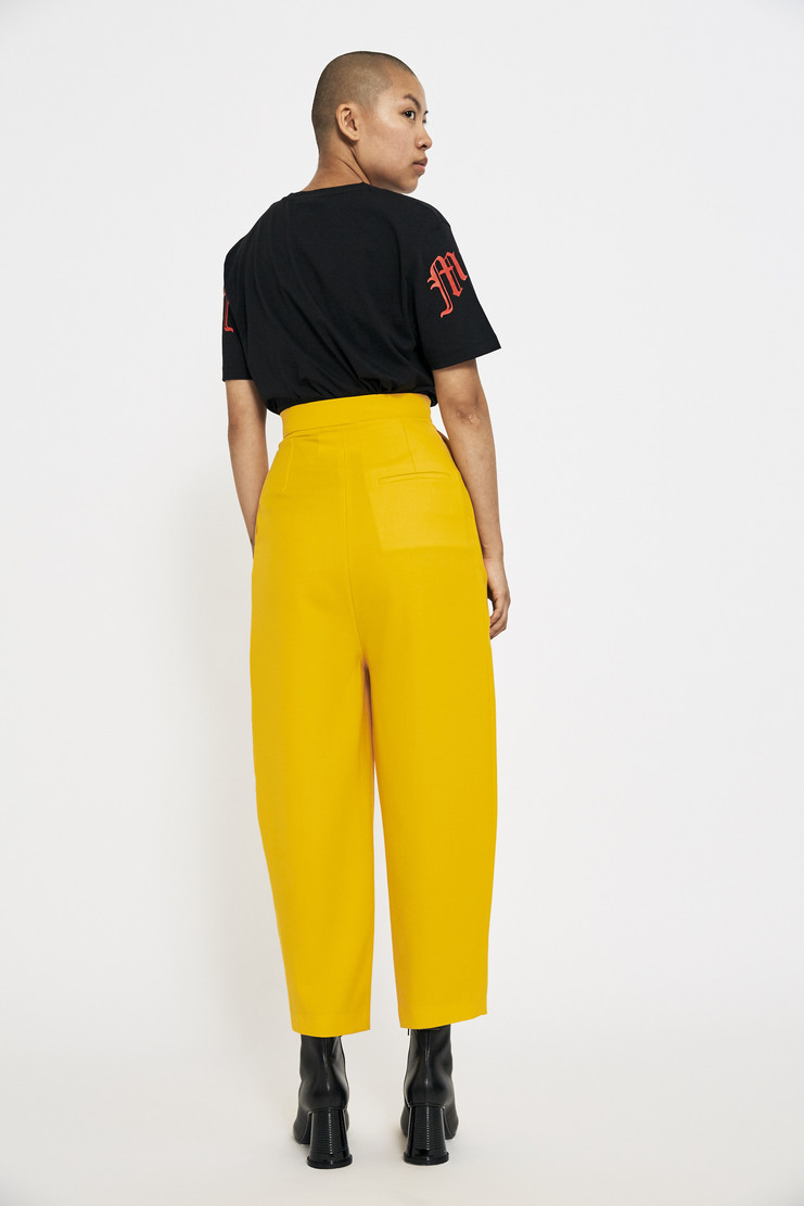 Marta Jakubowski Tailored Trouser AW17 A/W17 Martha Jakobowski Pants Yellow