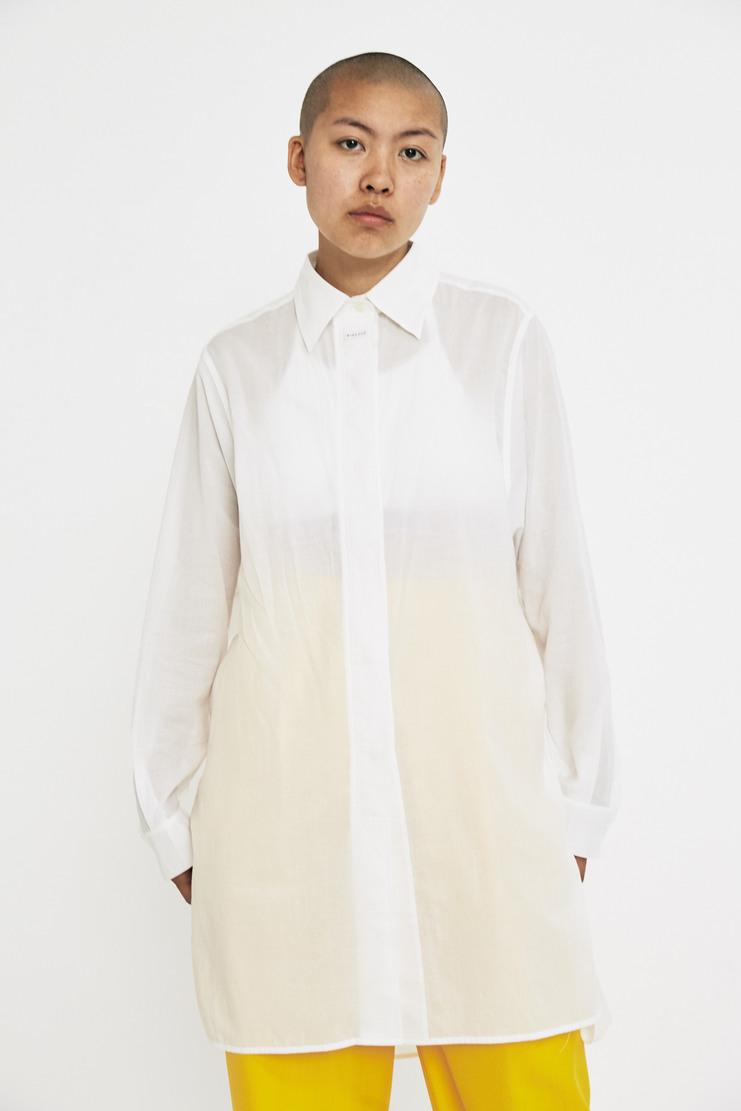 SIRLOIN Marx Shirt AW17 A/W17 Sir Loin Top White Usami Alve Lagercrantz