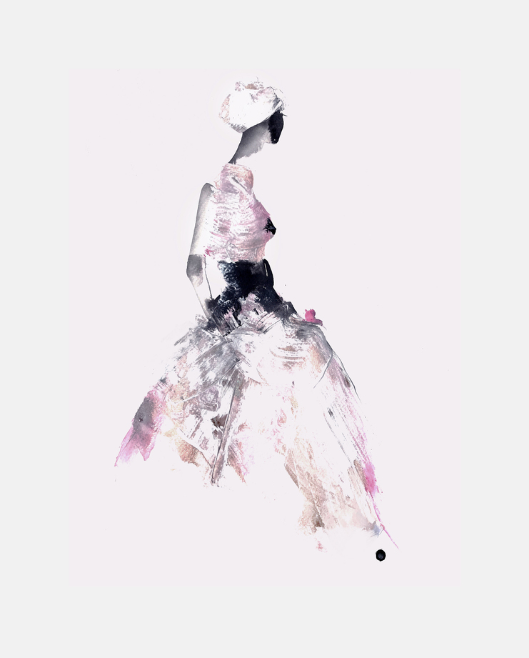 Asian Couture Federation S/S 18, Julia Pelzer, showstudio, fashion illustration