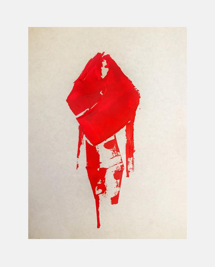 Gareth Pugh S/S 18, Julia Pelzer, showstudio, fashion illutration