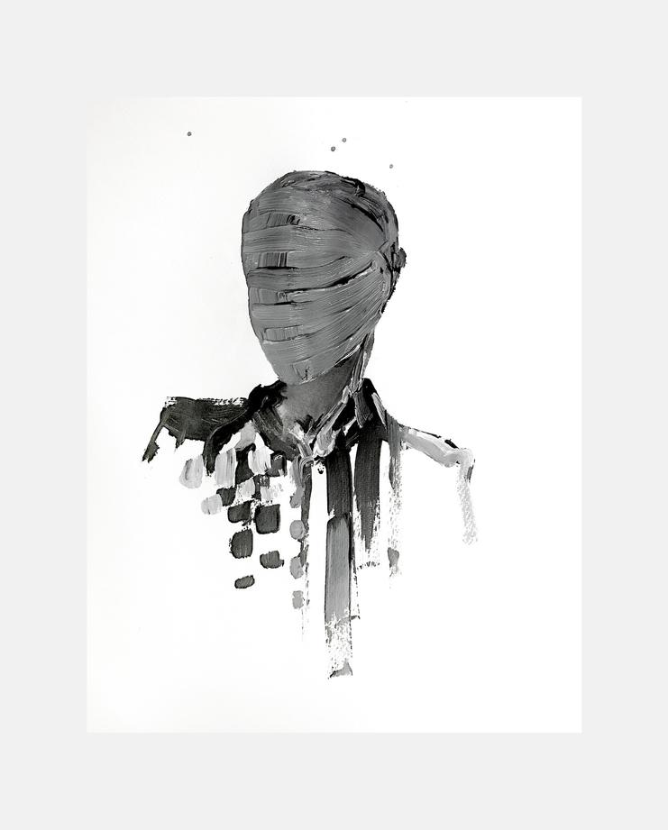 Dilara Findikoglu S/S18, Julia Pelzer, showstudio, illustration