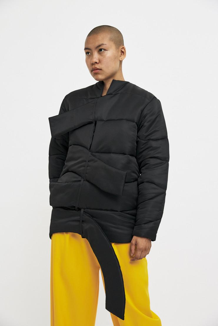 Marta Jakubowski Black Puffer Jacket AW17 A/W17 Puffa Coat Martha Jacobowski