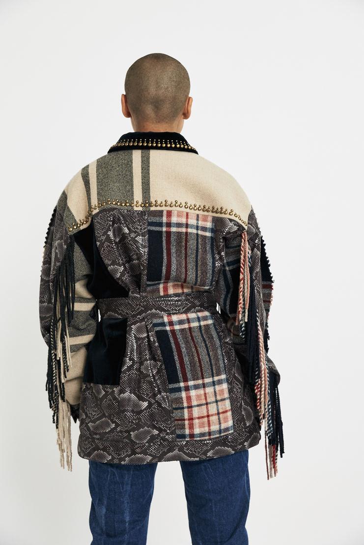 Maison Margiela Faux Snake Jacket aw17 coat vintage galliano