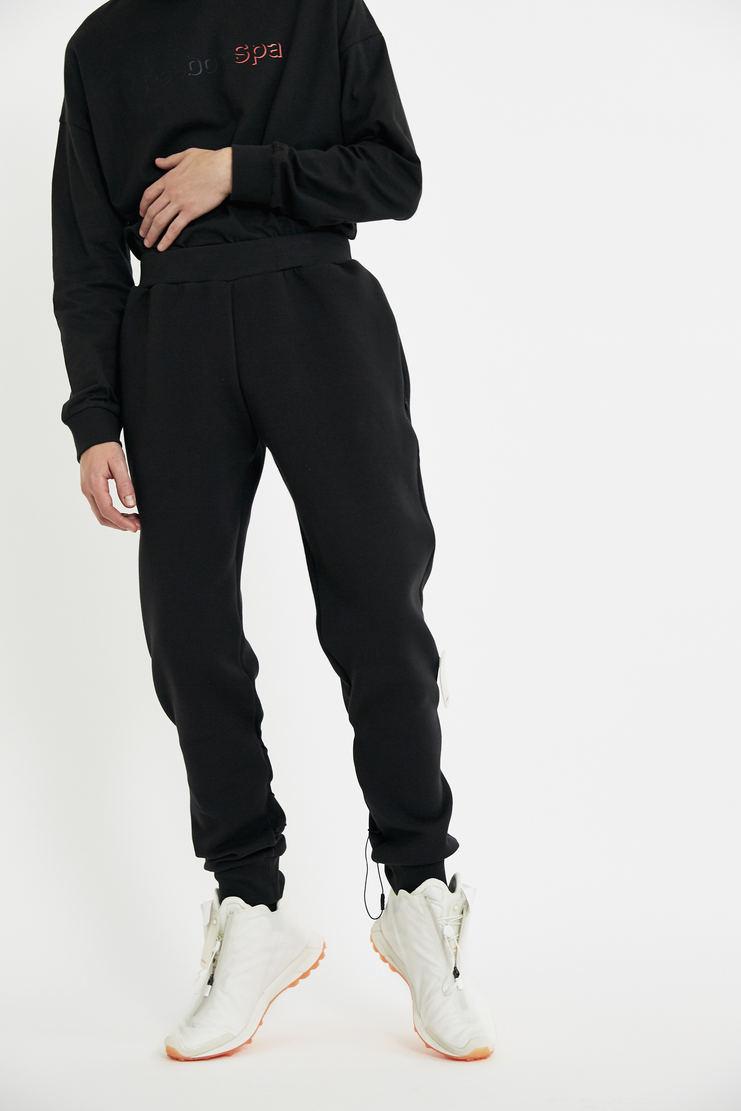 COTTWEILER x Reebok Chalk Sweatpants lace up elastic trackpants trousers sweat pant jogger joggers track pants cotweiler white pants aw17