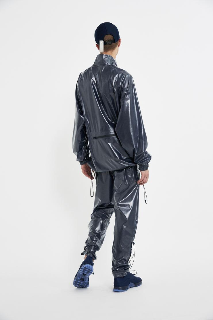 COTTWEILER x Reebok Frosted Windbreaker jumper blue navy shiney top long sleeve aw17