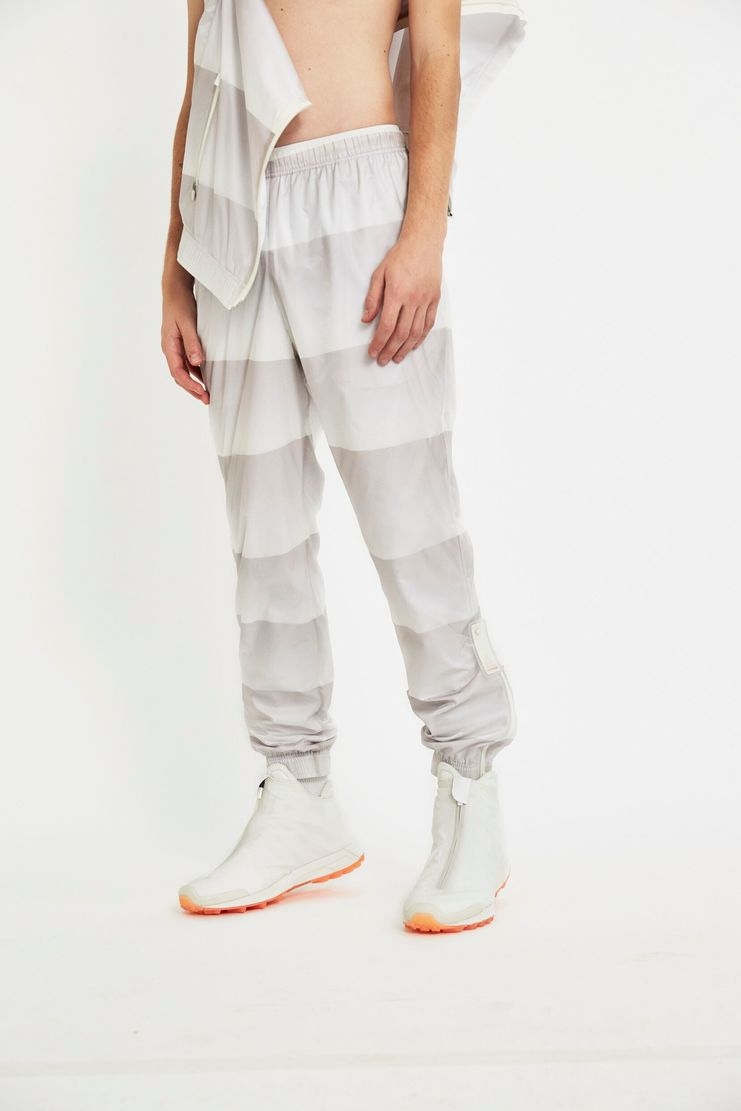 reebok x cottweiler, cottweiler, reebok, collaboration, chalk, cream, sportswear, track pants, jacket, aw17, lfw, fashion, white