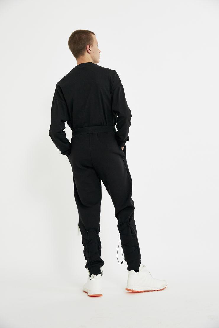 COTTWEILER x Reebok Long Sleeve Mock Spa T-Shirt tee sweater crew neck cotton lfw aw 17 jumper black