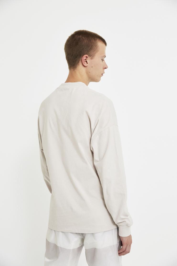 COTTWEILER x Reebok Long Sleeve Mock Spa T-Shirt tee sweater crew neck cotton lfw aw 17 jumper purple lilac