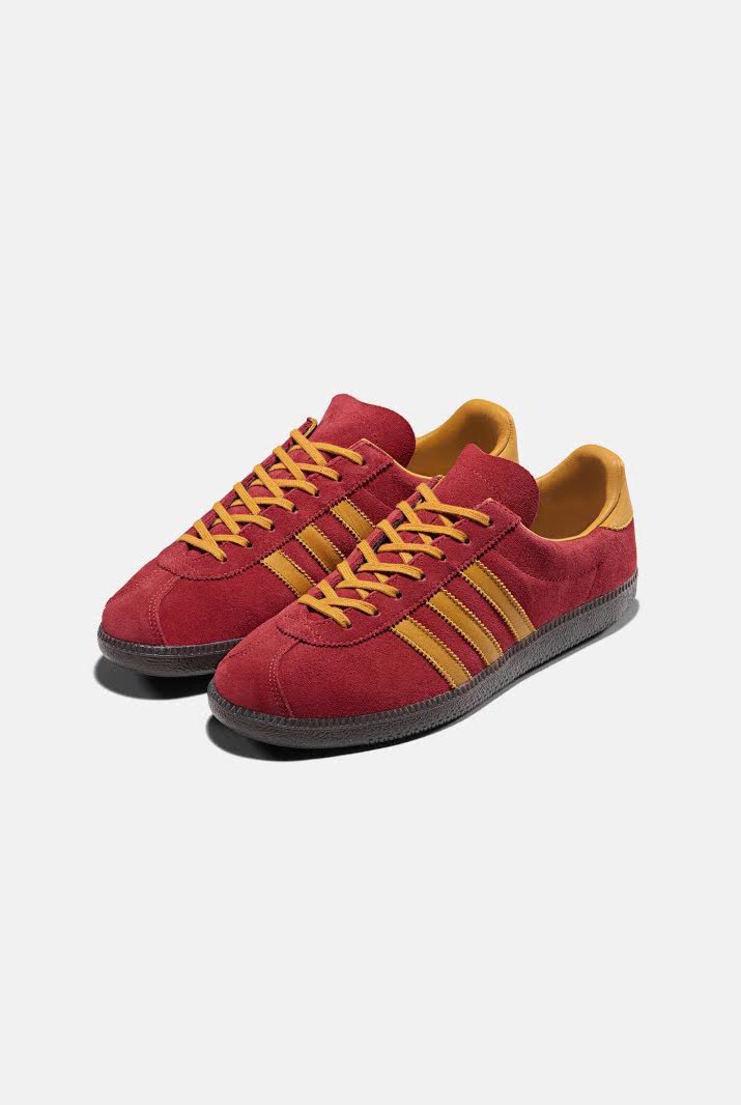 Adidas SPEZIAL Red Orange Trainers Sneakers Sporstwear A/W 17 sportswear gary aspen