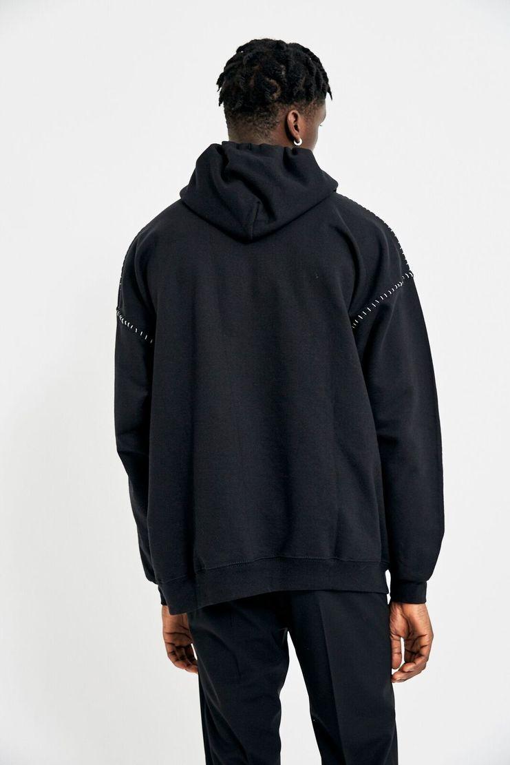 Heikki Salonen Black Liberta Hoodie A/W 17 AW17 FW17 F/W 17 Pullover Outwear Streetwear