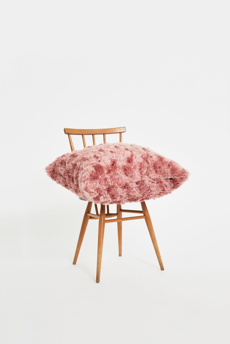 Kvadrat Argo 2 Cushion Raf Simons Mohair Pink Pillow Homeware House Pillows Decor Interior Design Colours Simmons Accessories