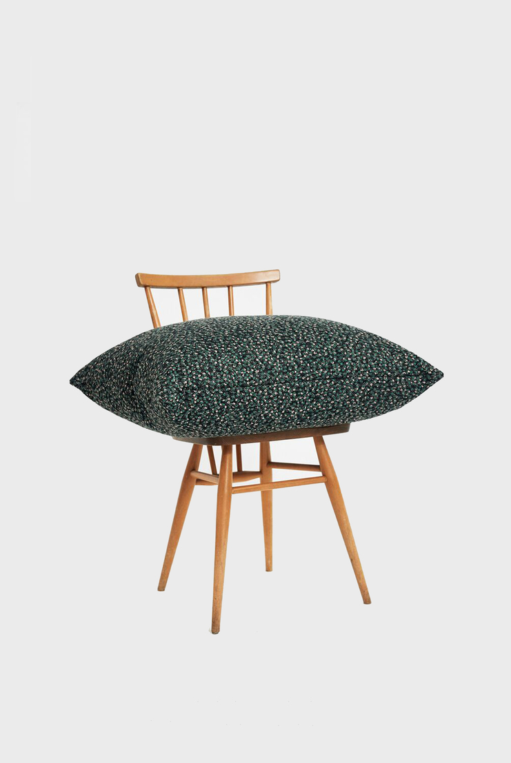 Kvadrat Ria Cushion Raf Simons Pillow Wool Woollen Homeware House Rectangle Pillows Decor Interior Design Colours Simmons Accessories Black