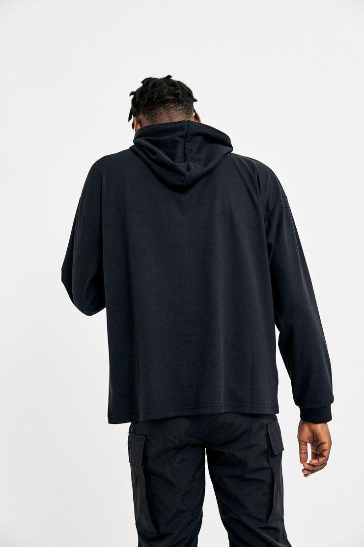 Alyx, Hooded L/S, Hooded, Long Sleeve T-Shirt, Hoodie, Sweatshirt, Tee, Black, Menswear, Unisex, New Arrivals, A/W 17