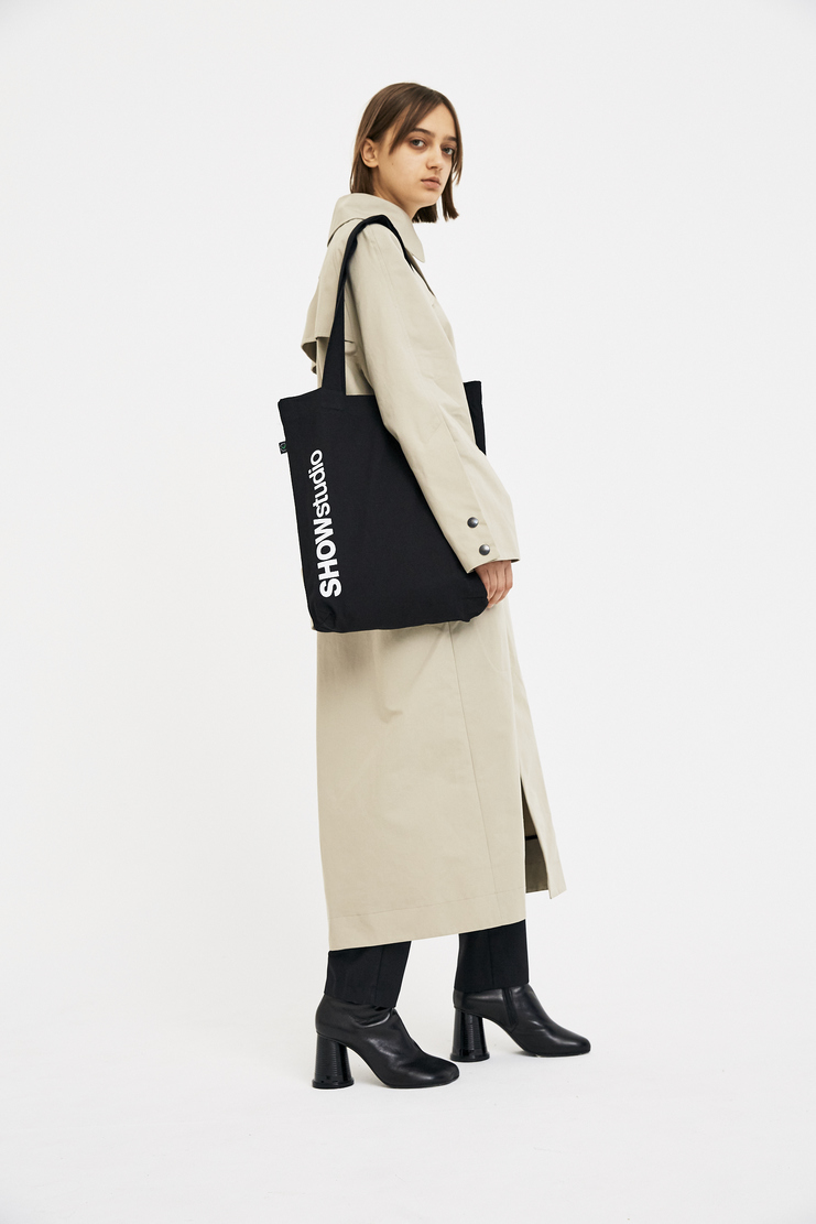 SHOWstudio Black Tote Bag A/W 17 F/W 17 FW17 AW17 Shopping White Merchandise Official SS18 SS/ 18