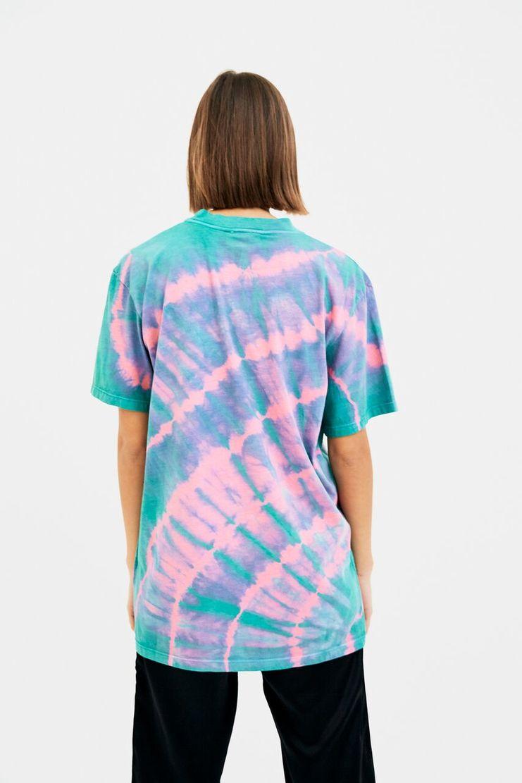 ARIES Temple Print T-Shirt AW17 A/W17 Arise Areis Top Tshirt Pink Green
