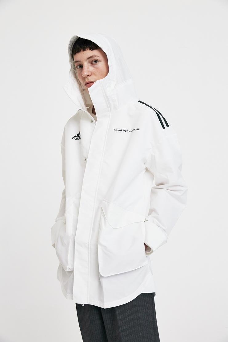 Gosha Rubchinsky x Adidas White Jacket A/W 17 AW17 FW17 F/W 17