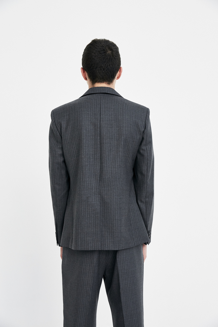 Gosha Rubchinskiy Wool suit Jacket aw17 fw17 rubchinsky paris russian corporate blazer button coat