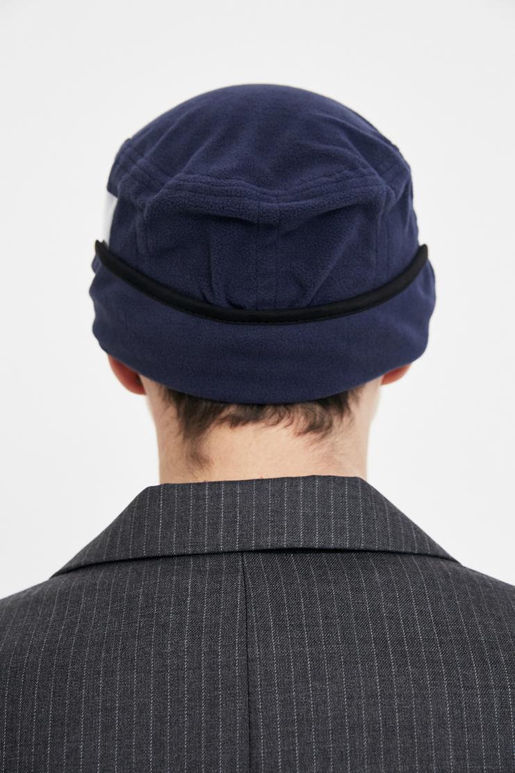 Gosha Rubchinskiy X Stephen Jones Fleece cap AW17 FW17 A/W 17 F/W 17 beret beanie hat woollen felt rubchinsky