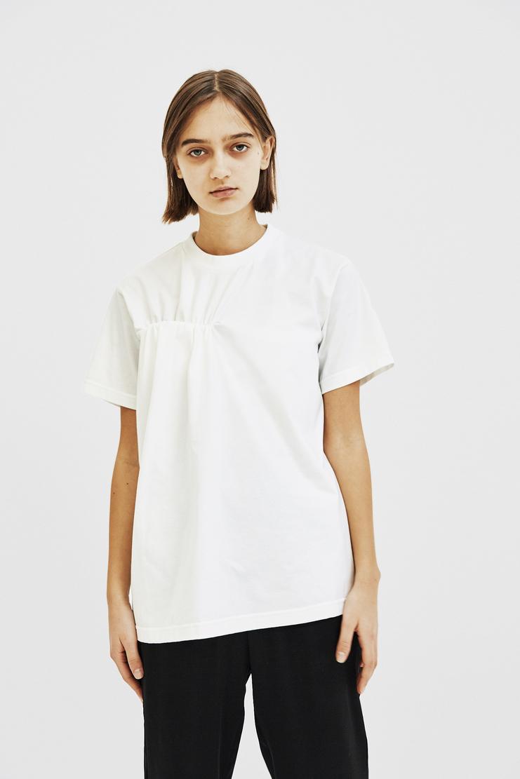 SIRLOIN Heinz- H T-shirt A/W 17 F/W 17 Tops Short Sleeve FW17 AW17 White Cream Puff Crew