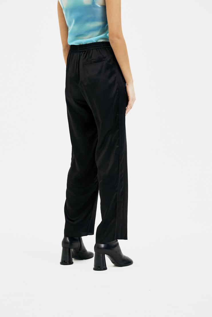 ARIES Silk Track Pants AW17 FW17 A/W 17 F/W 17   Striped pants striped trouser black