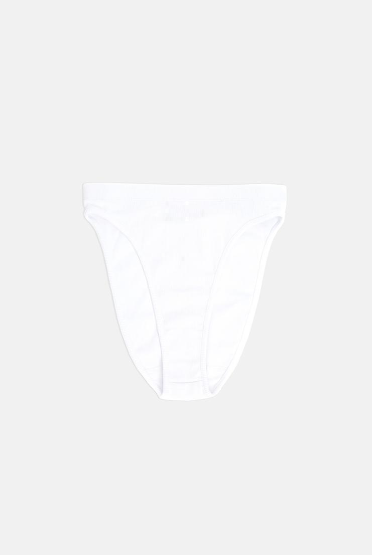 MARIEYAT Island Brief White mary maree yst yaat yatt underwear knickers pants lingerie A/W 17 F/W 17 FW17 AW17