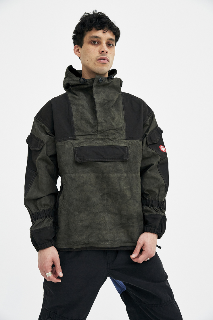 Cav Empt Military Green Pullover Jacket A/W 17 F/W 17 FW17 AW17 coat winter sports army camo camouflage cavempt cabe emot empy empr
