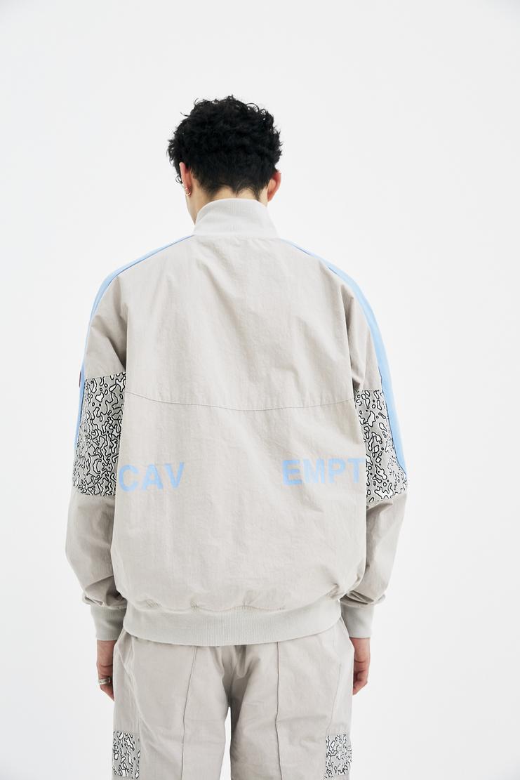 Cav Empt Grey Training Jacket sports high collar camo camouflage coat A/W 17 F/W 17 FW17 AW17