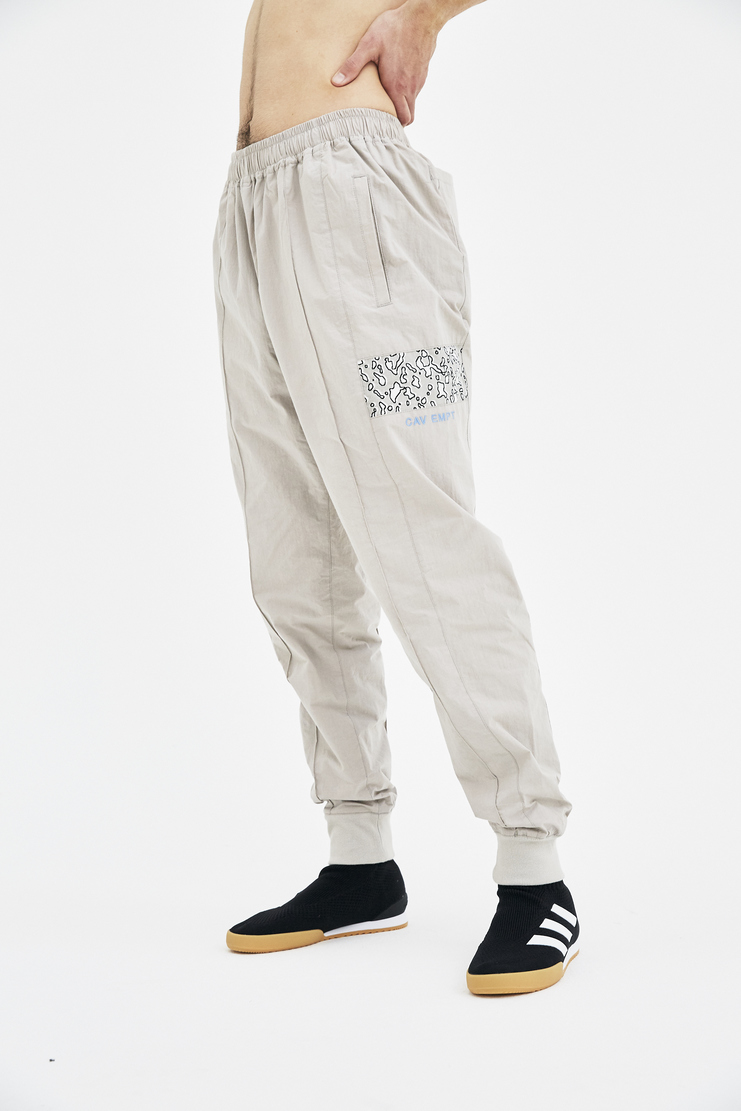 Cav Empt Grey Tracksuit Bottoms A/W 17 F/W 17 FW17 AW17 trackies trousers pants cavempt emot empr cabe cavw cavr white