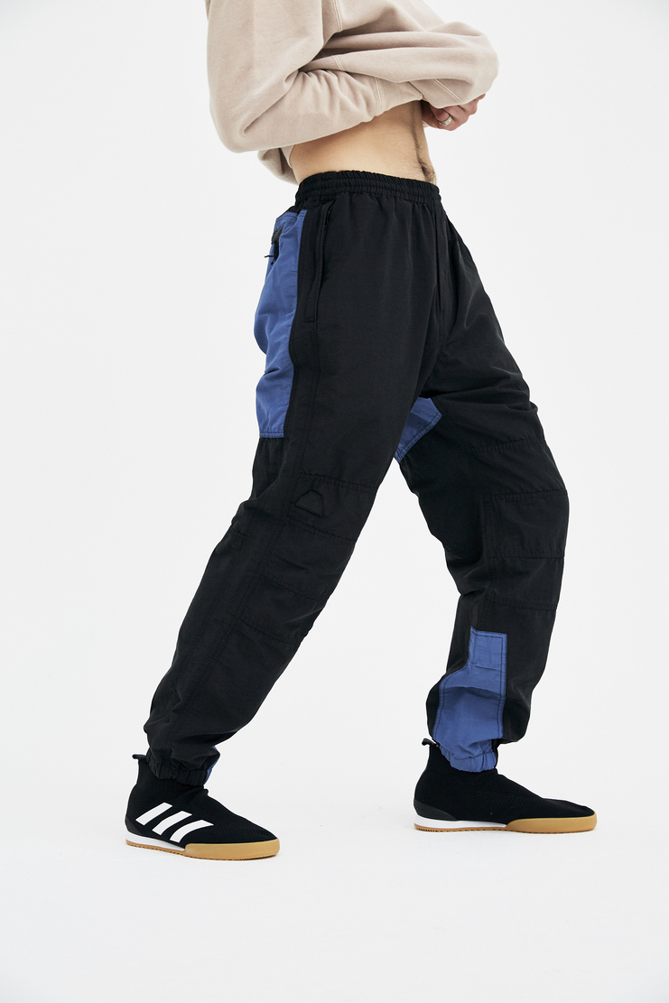 Cav Empt Black Warm Up Pants A/W 17 F/W 17 AW17 FW17 yoga trousers trackies bottoms grey navy blue cave cavempt cabe empr emot empy