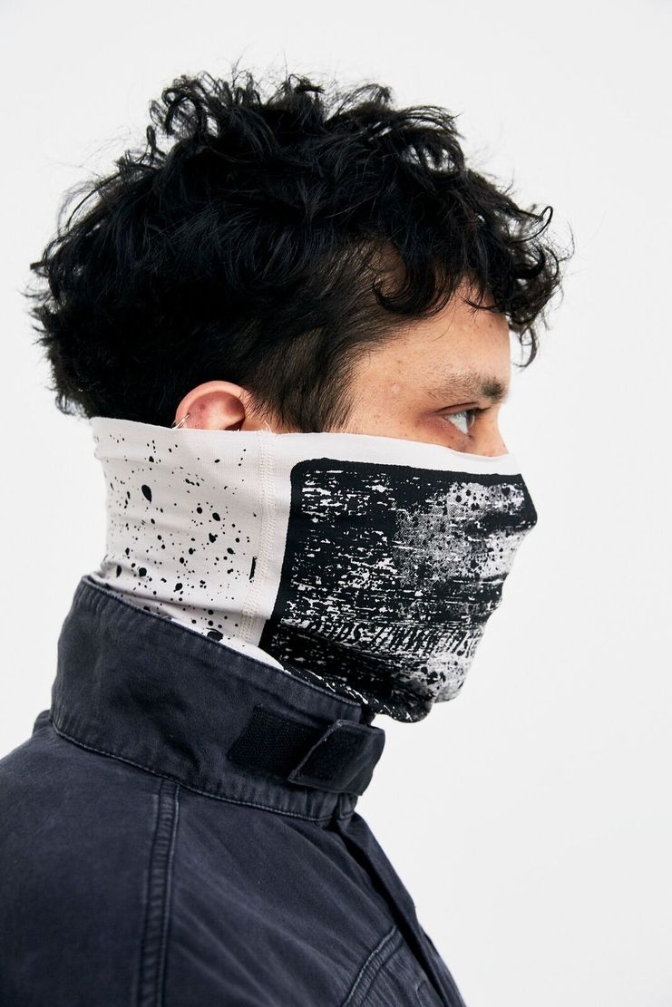 Cav Empt Black Disguise #3 Mask Scarf Black A/W 17 F/W 17 FW17 AW17 accessories accessory streetwear streetstyle style cab cavempt caveempt csv emp emot empr empy