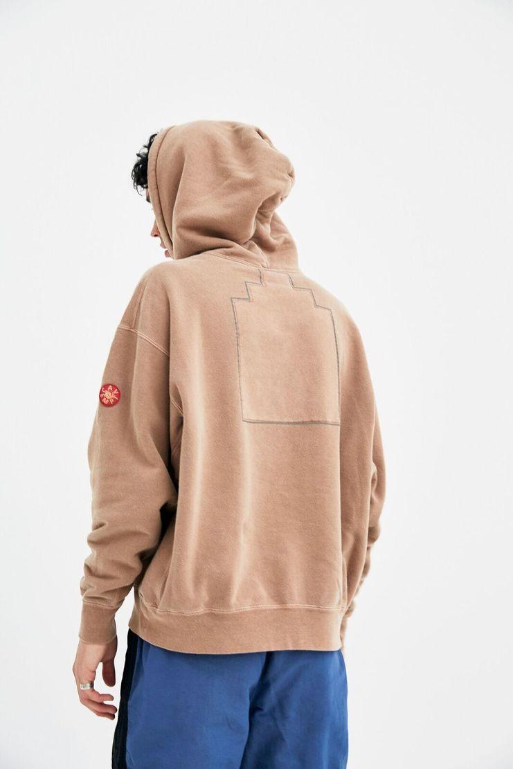 Cav Empt Brown Pervasiveness Hoodie Pullover Coat Jacket Jumper A/W 17 F/W 17 AW17 FW17 cave empr empy cavempt