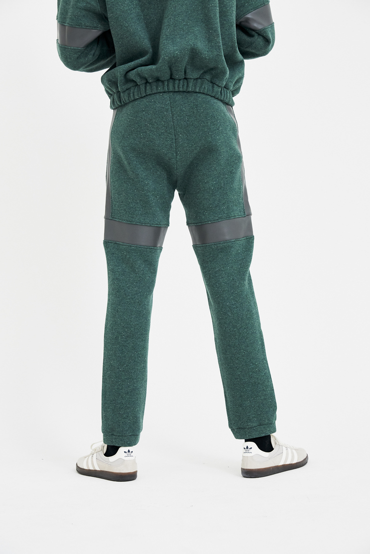 Gosha Rubchinskiy Green Wool Pants track pants trousers sweatpants A/W 17 F/W 17 FW17 AW17