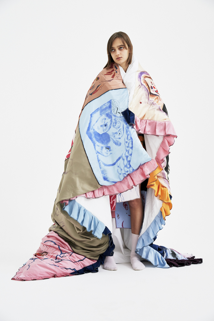 Claire Barrow Sheet A/W 17  F/W 17 FW17 AW17 Duvet Quilt Cushion Bedding Bed Set Clair Barow